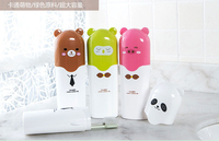 Toothbrush Holder Tooth Mug Toothpaste Cup Bath Travel Accessories Set 4 Colors