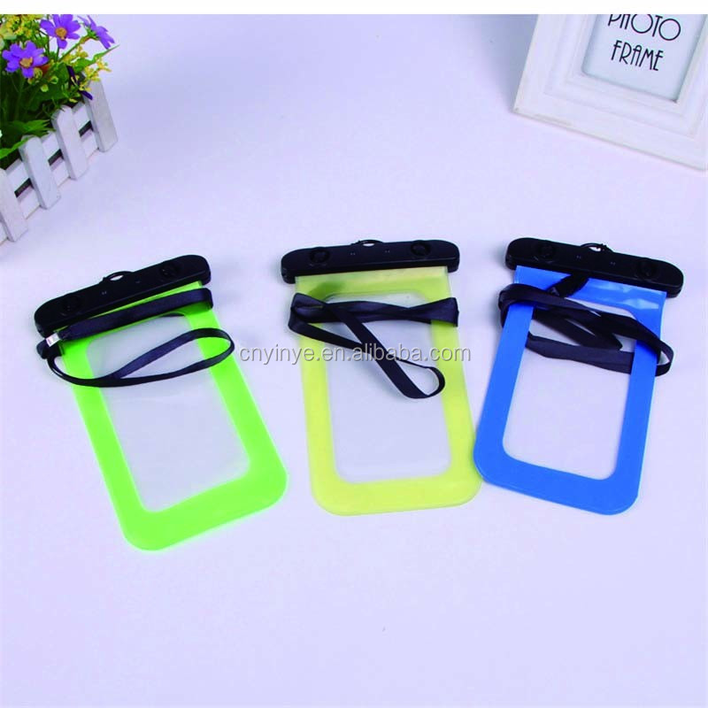 Cheap pvc waterproof case for iphone Samsung waterproof dry bag