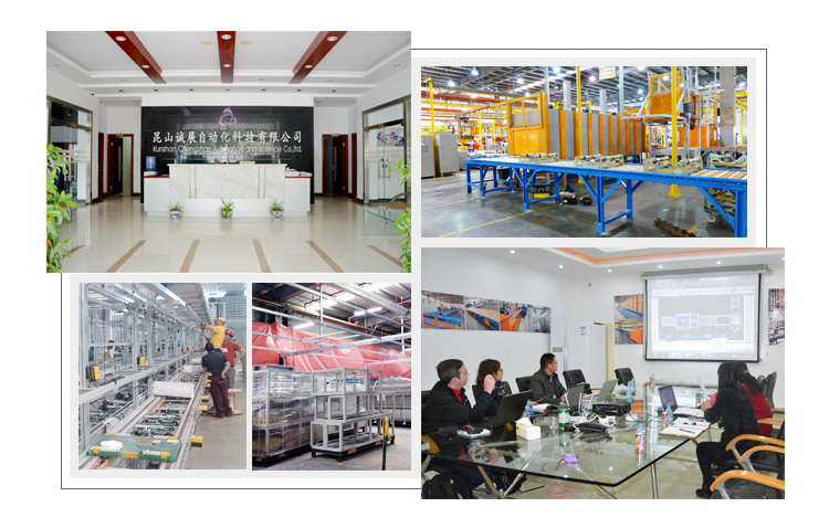 Automatic Production Assembly Line Roller Conveyer In China