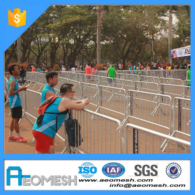 Marathon Main Road Pedestrian/Crowd Safety Barrier