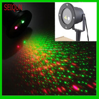 waterproof star christmas moving head outdoor laser light