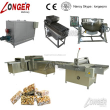 Stainless steel Peanut Bar Production Line/Peanut Candy Bar Making Machine