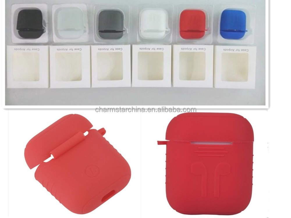 Protective Silicone Cover and Skin for Apple Airpods bluetooth Charging Case