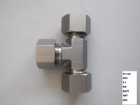"high quality casting 1/2""-4"" stainless steel compression fittings for the hose pipe connection"