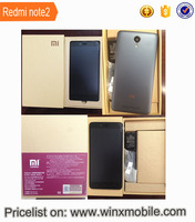 2016 mobile phone New 5.5 inch 16gb /32gb Original xiaomi redmi note 2 techno phone mobile