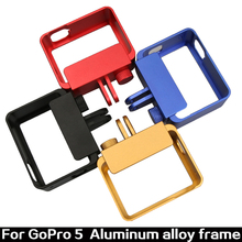 CNC Aluminum Housing Case Shell Frame for Gopro Hero 5