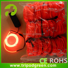 Multi Color EL Wire / Glowing EL Wire Roll / ELwire For Decoration China