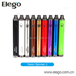 Top Selling vision spinner 2 big vapor e cigarette with adjustable voltage