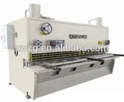 Hand guillotine shear h beam cutting machine shearing machinery