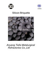 China plant supply Ferrosilicon briquette as deoxidizer in steel production