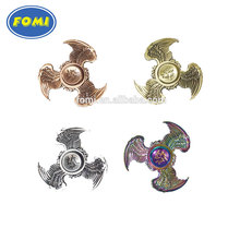 Wholesale Hand Toys Wings Of The Dragon Design Finger Spinner Four Colors Chinese Supplier