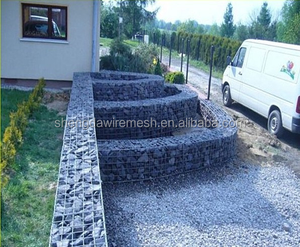 Wire Cages Rock Retaining Wall/ Gabion Baskets/ Gabion Mesh