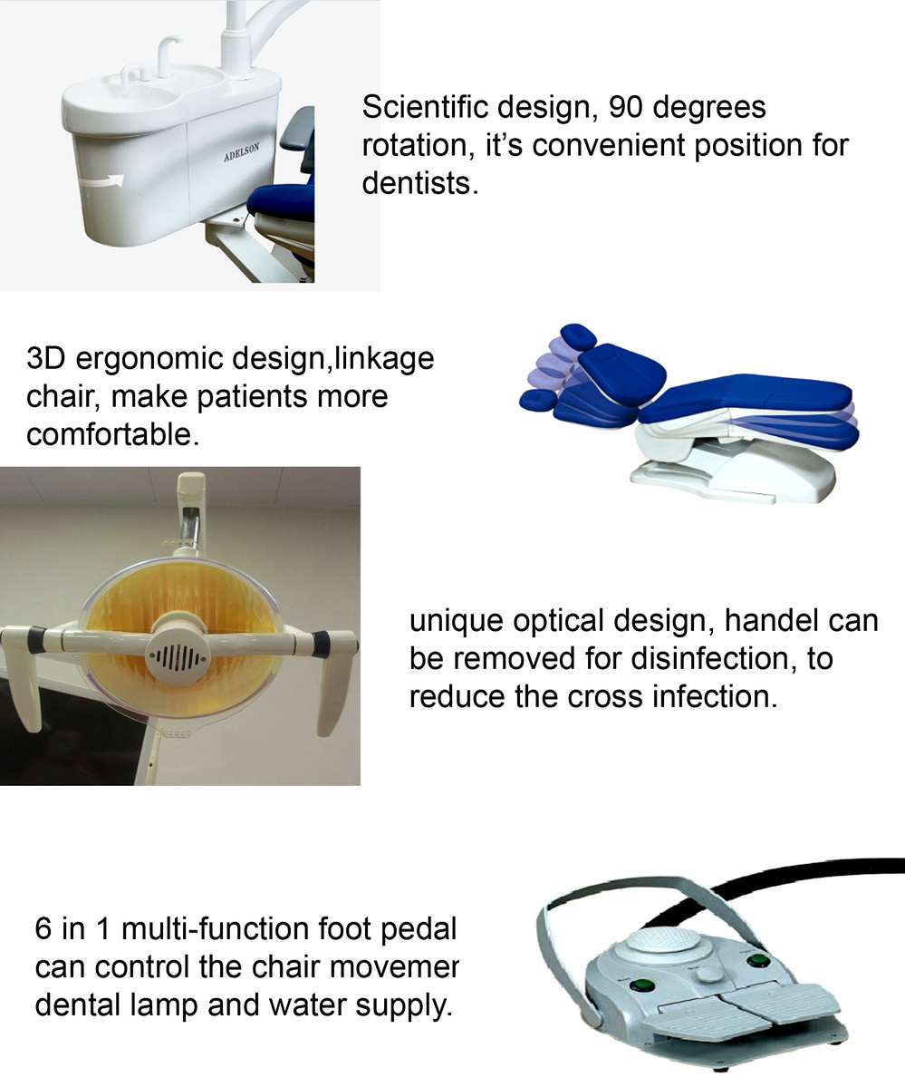 Parts of dental chair - Ce Iso Best Selling Dental Unit Dentists Stools Dental Chair Parts Dental Equipment