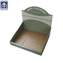 18010306 Offset Printing made PRODUCT DISPLAY QUICKLY printed corrugated cardboard display pdq box