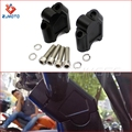 High Quality CNC T6 6061 Black Aluminum Motorcycle Handlebar Riser for SUZUKI SV650 ALL YEARS, SV1000, DL25, GW250 S/F