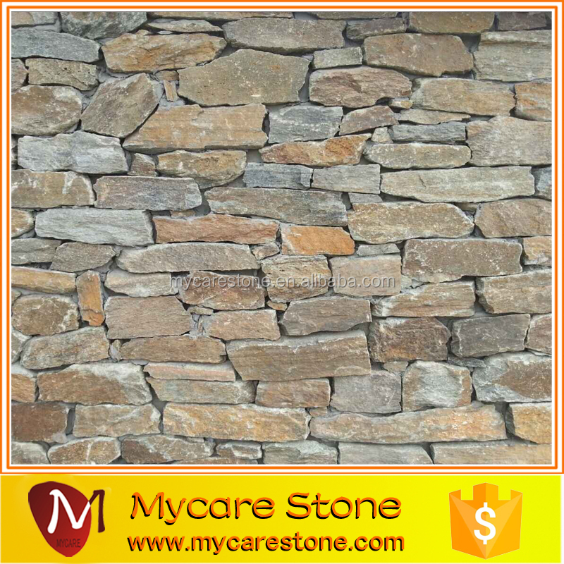 Slate Rustic Stacked Stone Exterior Stone Wall Cladding Slate Retaining Wall Buy Rustic