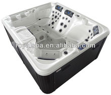 Luxury Free standing Acrylic Outdoor Spa Used Whirlpool For 5 Persons