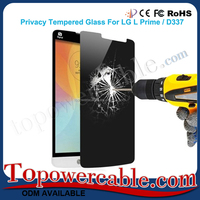 New Premium Anti-Spy Privacy Real Tempered Glass Phone Screen Protector Film 9H For Lg G Pro Lite D680