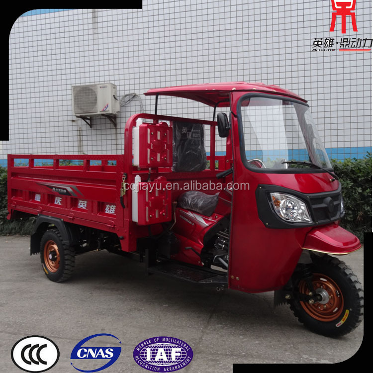 High Quality Open Cabin Cargo Motorcycle 3 Wheel for Sale