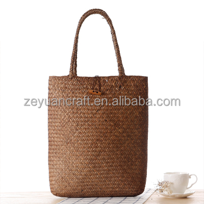 Summer sleeping mat woven straw bag rural wind straw bag
