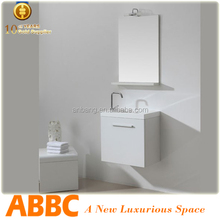 New mirrored thin bathroom vanity price off 20% model no.W-118