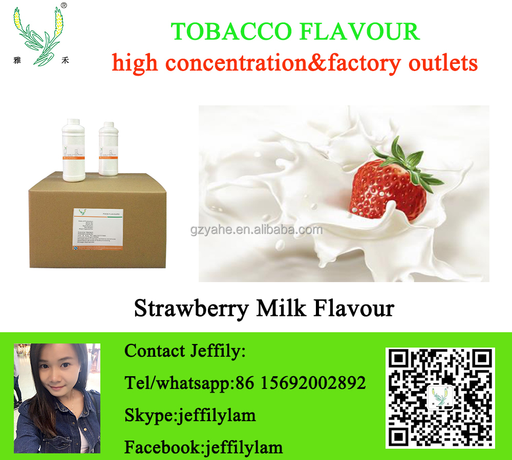High concentration strawberry milk flavor,concentrate for tobacco