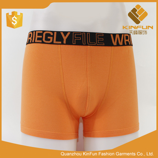 Hot sale men underwear soft breathable cotton knitted crazy boxer shorts