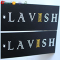 Custom made printing paper hang tag for garment