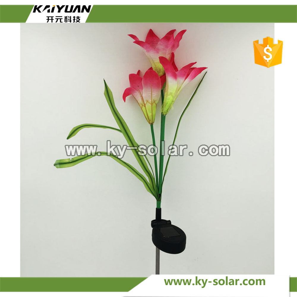 Solar Security Light Garden Solar Lily Light