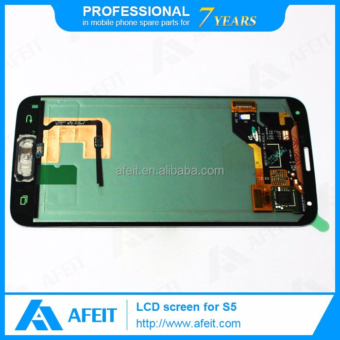 China mobile phone spare parts for samsung galaxy s5 lcd Original for samsung spare parts