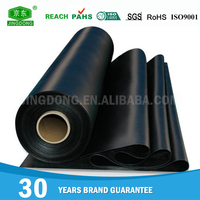 Durable ageing resistant oxidation resistance rubber sheet