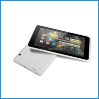 7inch dual core Adroid4.4 dual camera tablet PC with USB slot