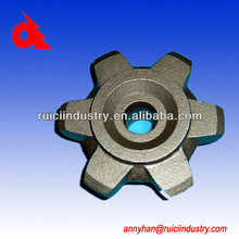 customize casting iron of parts iron casting gg25 ggg40 China manufacturer