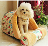 Redhill Factory supply professional removable dog cave dog bed plush pet house dog house
