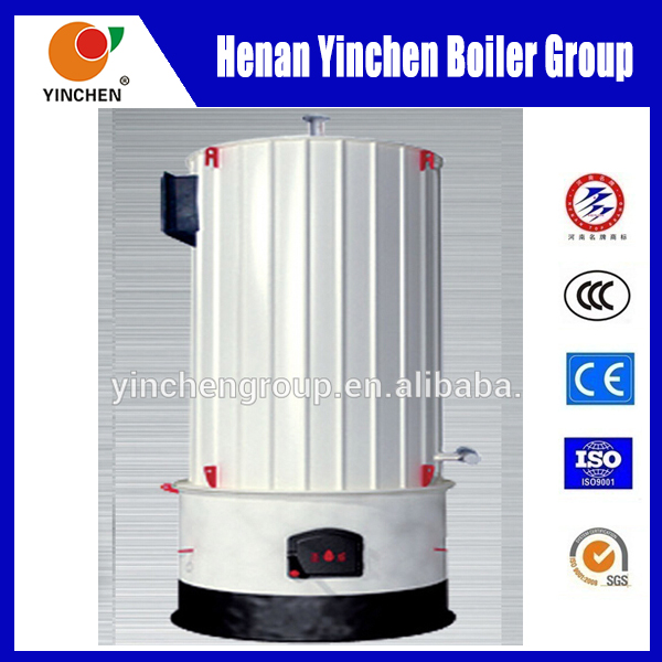YGL hot sale A grade coconut shell or palm kernel shell fired conduction oil boiler
