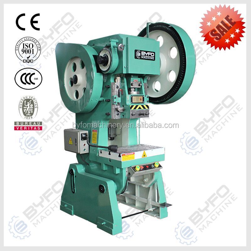 eccentric steel sheet punching press machine,eccentric steel plate/iron sheet forging press for hot sale
