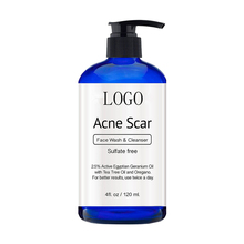 Wholesale Natural Sulfate Free Acne Scar And Pigmentation Removal Face Wash