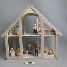 New and Popular Furniture Sets Toys Wooden Doll House