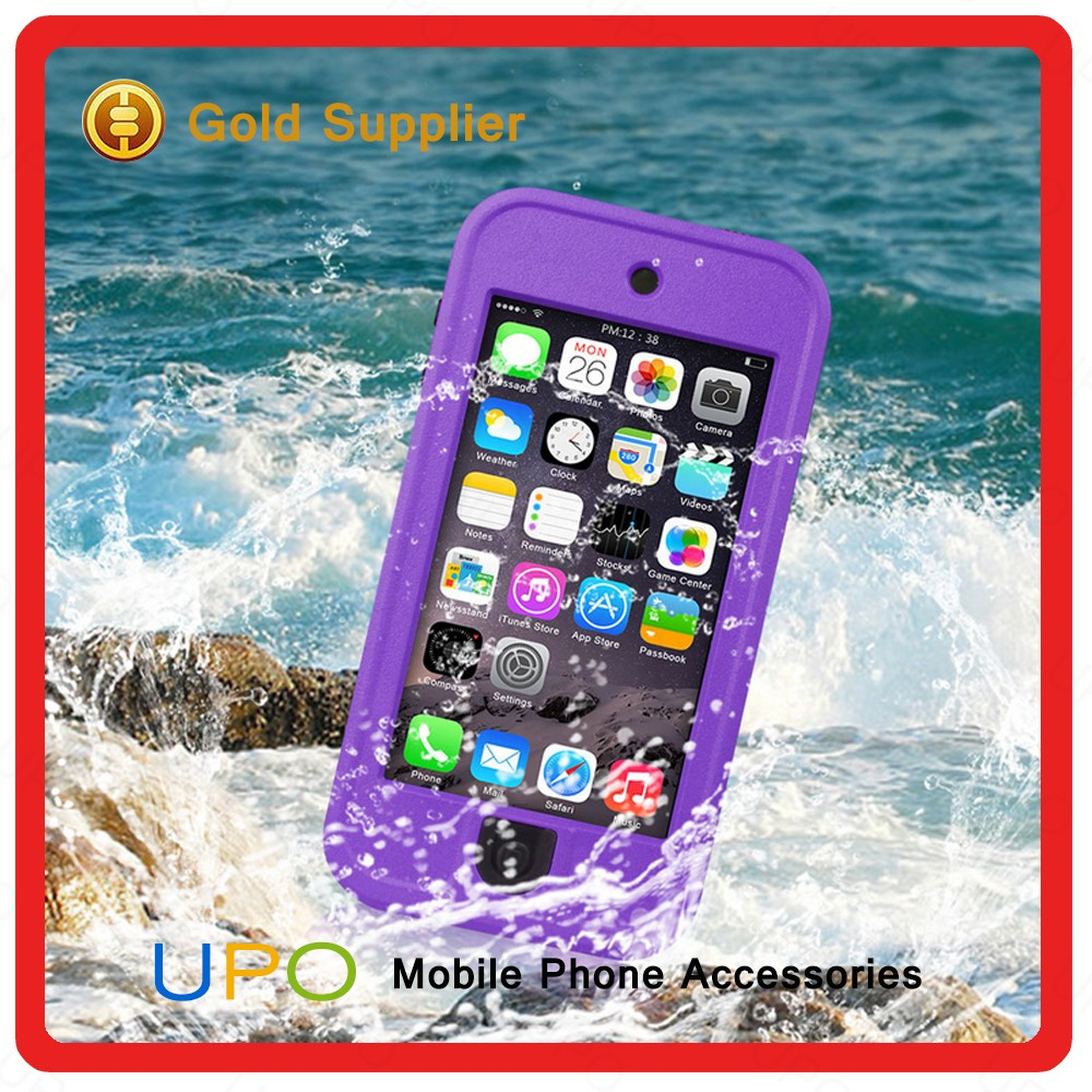 [UPO] High Quality 2 in 1 Hard Plastic TPU Waterproof Shockproof Back Cover Case for iPod Touch 5