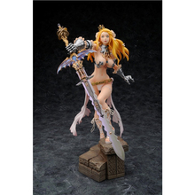 Japanese anime sexy nude woman warrior with the sword figure statue