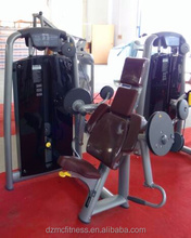 Exercise biceps parts of sports equipment/ High quality biceps curl gym machine