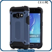 Hard PC case with 360 degree rotating strong protective case cell phone case for Samsung J1 2016