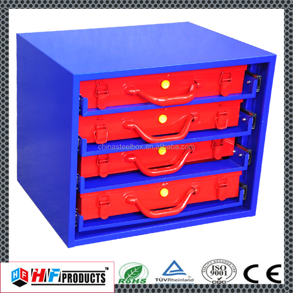 Cheap Trade Show fireproof storage max steel tool box
