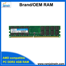 Retail package cheap AMD Motherboard suitable 256mb*4 32ic ddr2 4gb ram price
