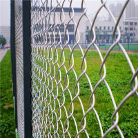 PVC coated chain link fence/chain link weaving mesh