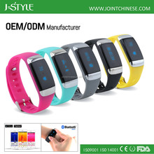 2016 New product 3D Wristband Pedometer Smart Watch Bracelet ,calorie counter heart rate monitor sport watch