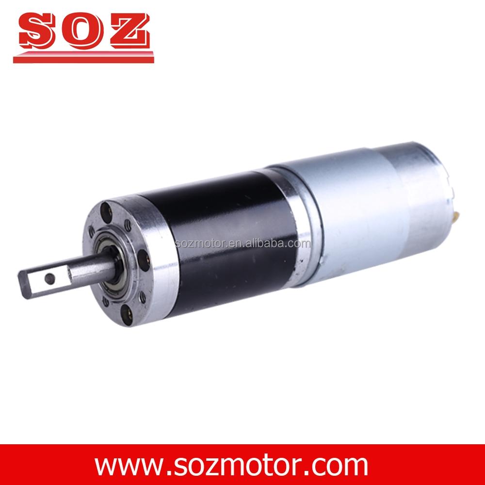 Soz 12v 24vdc Planetary Geared Motor 12 V Dc Gear Motor