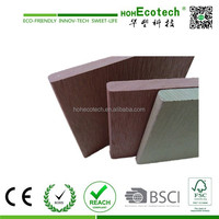 Wood Plastic Composite Fence Board / Deck Plastic Wood / WPC Decking Review