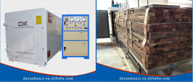 high frequency vacuum drying equipment/wood drying kiln
