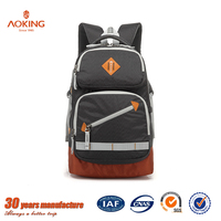 Blank Simple Small Soft Nylon Fabric Cool Designer School Bag Backpack